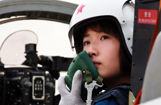 世界各国空军女飞行员英姿