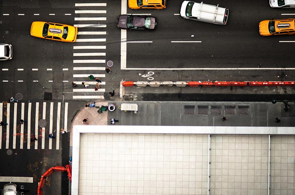 街景分镜头手绘