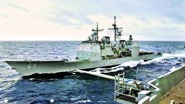 社评:避免在中国门口相撞,美舰责任第一