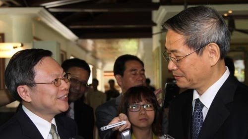 王郁琦或春节后访大陆与国台办主任张志军会面