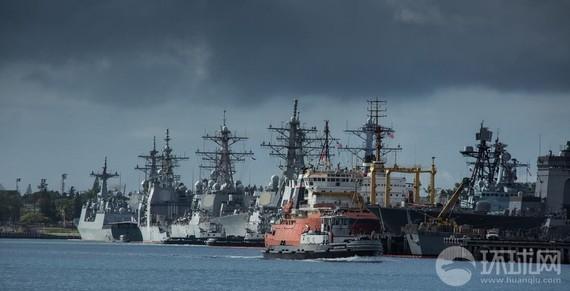 东海舰队将派军舰参加2014-环太平洋大军演