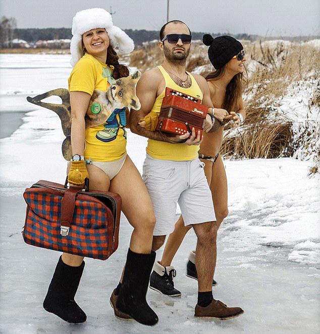 西伯利亚/西伯利亚迎来史上首次暖冬似早春(2/8)