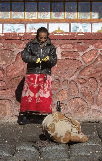 财经资讯_图记西藏传统天葬仪式_摄影_环球网