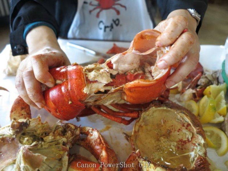 美国巨型龙虾吃了此生无憾