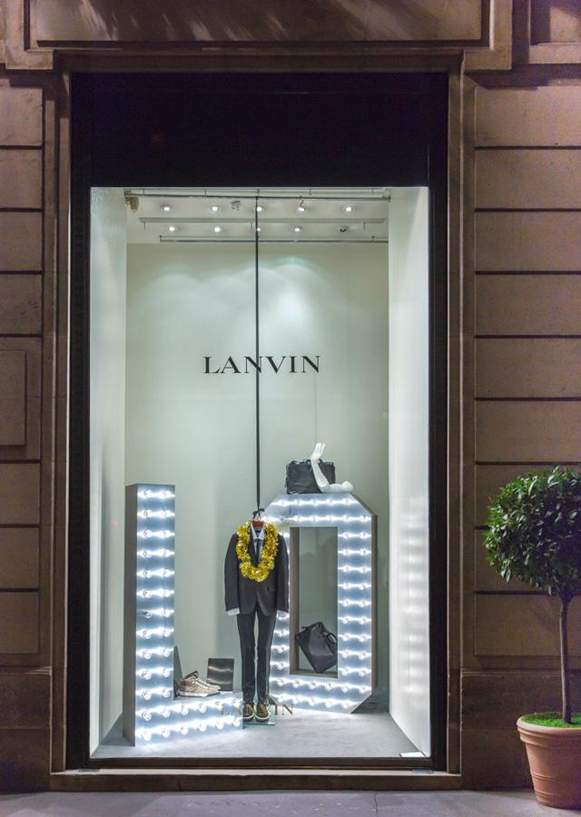 军事资讯_Lanvin 2013巴黎圣诞橱窗设计曝光_时尚_环球网