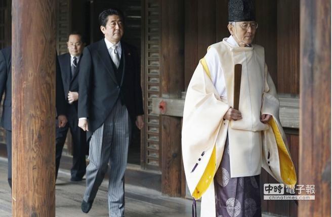 """台方谴责安倍""""拜鬼"""":日本勿伤害邻国感情"""
