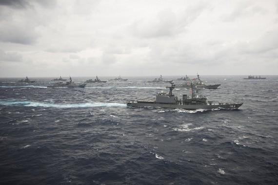 外媒:日军费是中国1/3 但军事投放存量仅次美