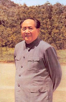 毛泽东一生中8张经典微笑照片