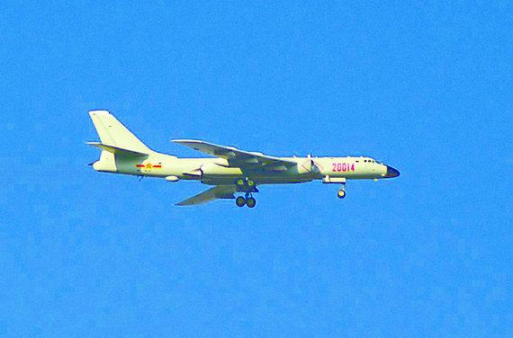 中国核轰炸机可攻美基地主要战场并非核战争