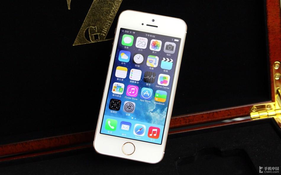 苹果5s土豪电信版_土豪新选择 玫瑰金版iPhone 5s开箱图赏_科技_环球网