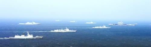 中国航母完成南海远航 网友期待投入热点地区