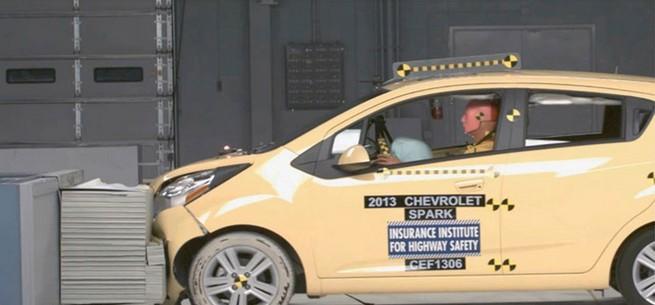 2014款雪佛兰乐驰在美碰撞测试获优高清图片