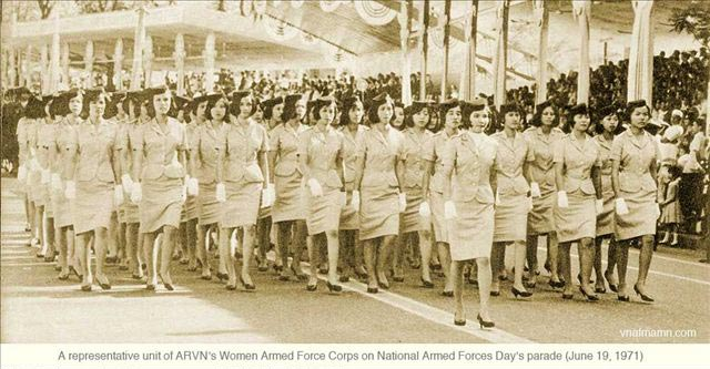 揭秘越南战争中的南越女兵