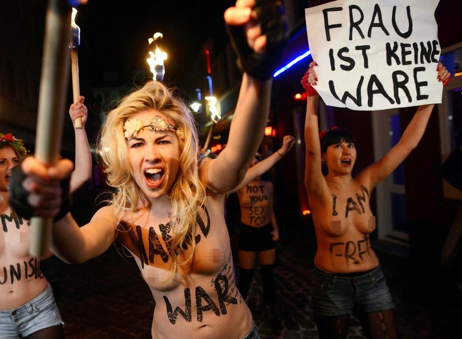 【2013·环球影像】赤裸的FEMEN