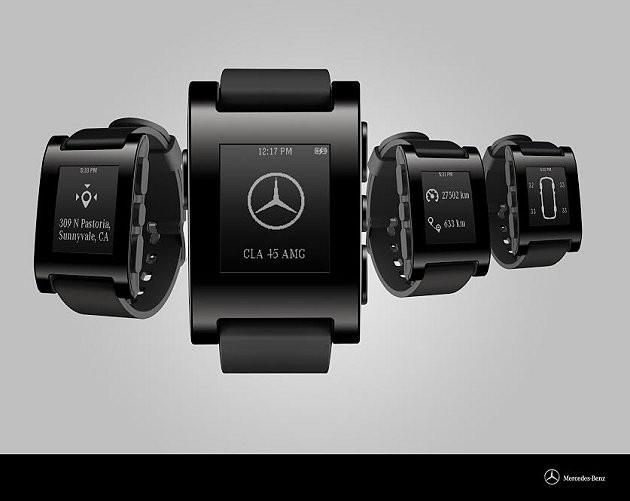 奔驰发布智能手表