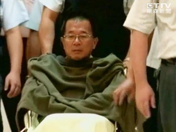 陈水扁在监狱浴厕内跌倒 右脚踝外缘轻微裂伤