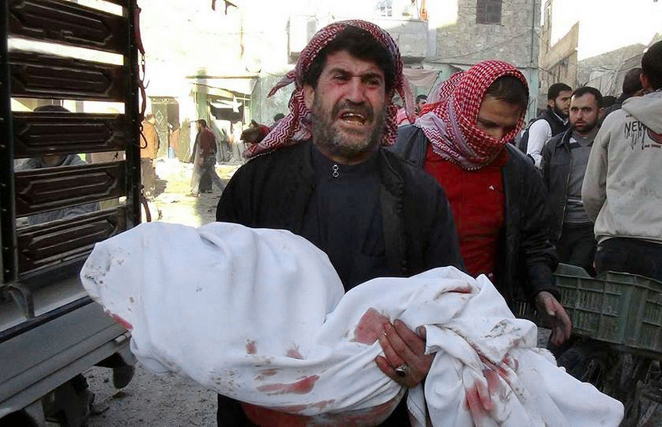 阿勒颇/【2013·环球影像】苦难的孩子(20/20)