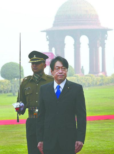 印媒:印度与日本加强军事合作构建反华长城