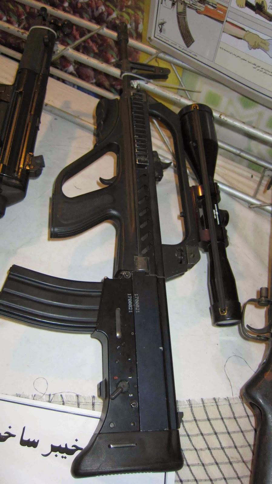 伊朗新造步枪很像解放军95式