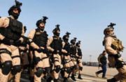 伊拉克警察的装备高端上档次