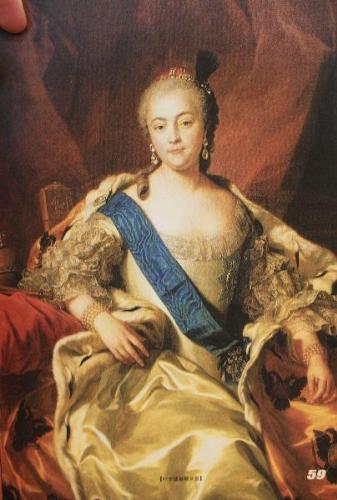 叶卡捷琳娜二世(1729年— 1796 年,1762年登基