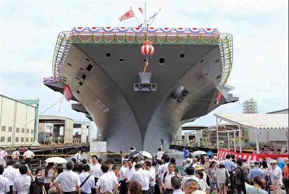 日媒称日本或建真正航母 强化联合夺岛作战