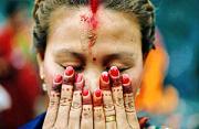 纪实摄影:尼泊尔女人节