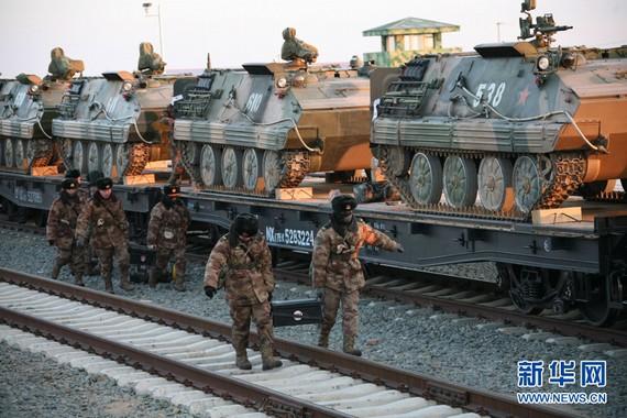 韩媒:沈阳军区十万兵力冬训 或应对半岛突变