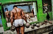 纪实摄影:巴基斯坦摔跤训练营
