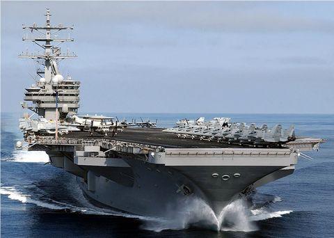 驻日美军迎更强核航母 提升美日联盟快反水平