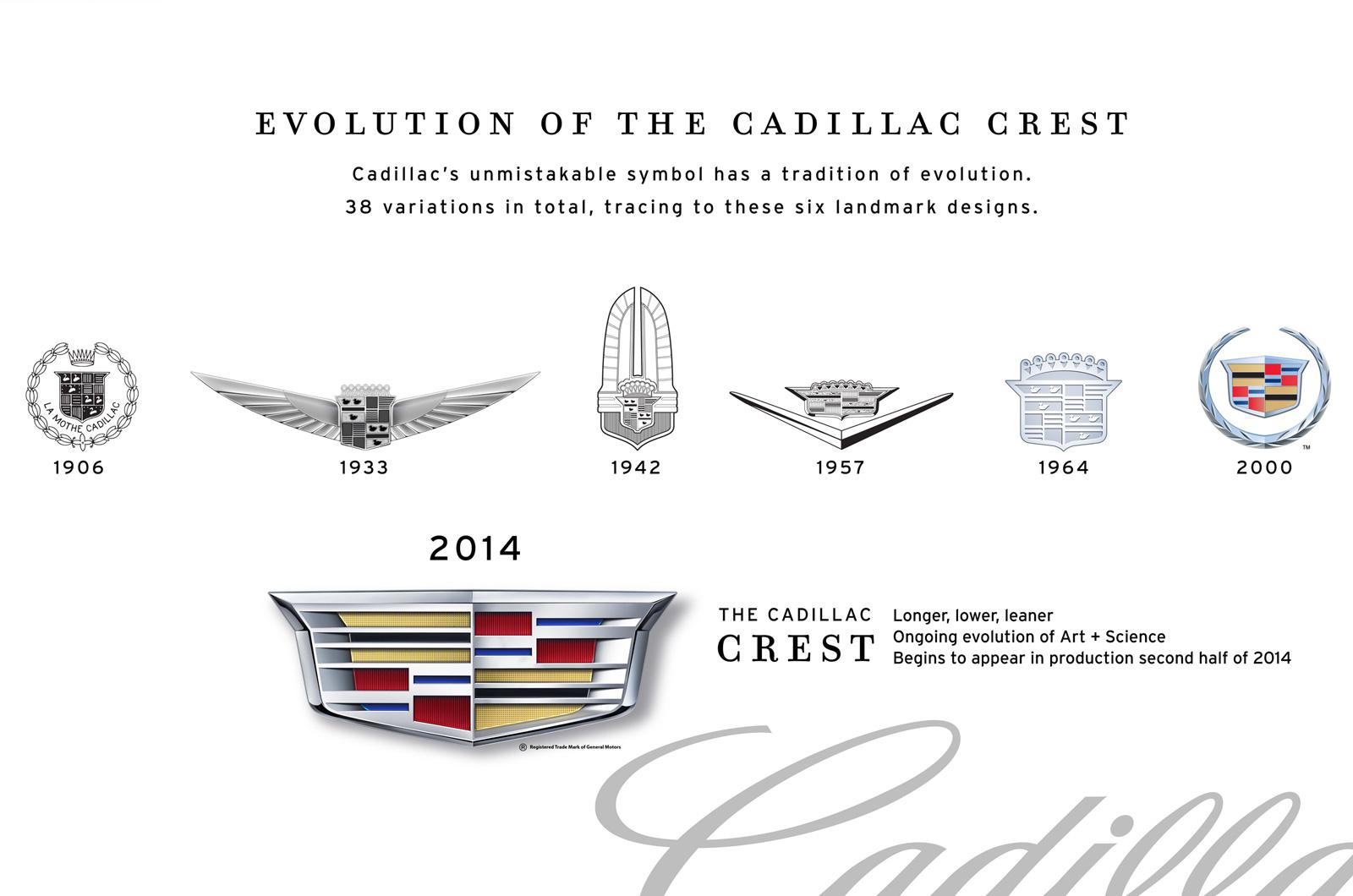 凯迪拉克发布新车标 cts ats率先启用图片