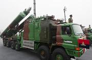 印度阅兵式上炫耀布拉莫斯导弹