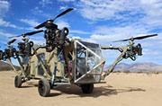 美国逆天造出陆空两用越野车