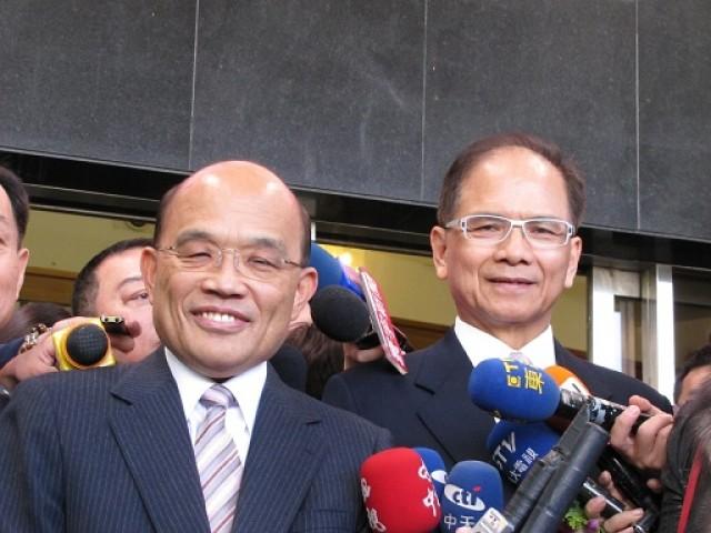 苏贞昌:大陆要面对充满疑虑仇恨的台湾吗?