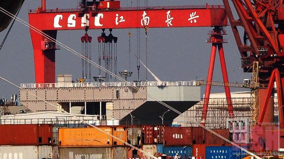 中国至少应拥有三艘航母 新武器刺激美国神经