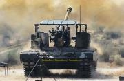 印度国产自行火炮使用敞篷炮塔