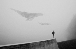 观念摄影:天空里的秘密
