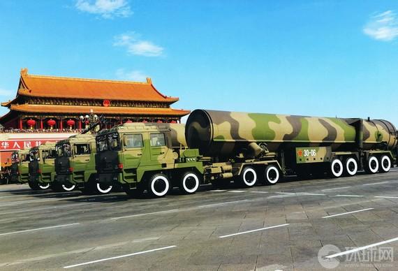 外媒:解放军洲际导弹亮相 警告美勿插手中日