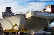 英国同时开工建造两艘航母?