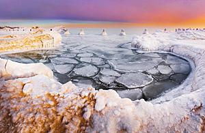 风光摄影:密歇根冰湖纪