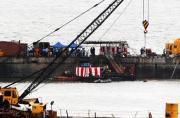 印度沉没潜艇花9个月才捞起