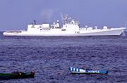 印军隐身护卫舰撞翻自家渔船