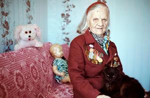 人像摄影:苏联退伍女兵
