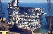 英欲买报废航母零件修现役航母