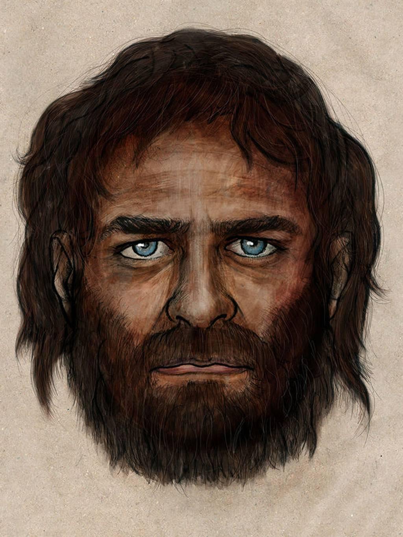 研究显示欧洲人7000年前拥有黑皮肤蓝眼睛图片