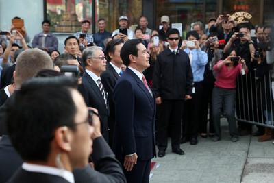 马英九:两岸同属中华民族 应彼此合作相互协助