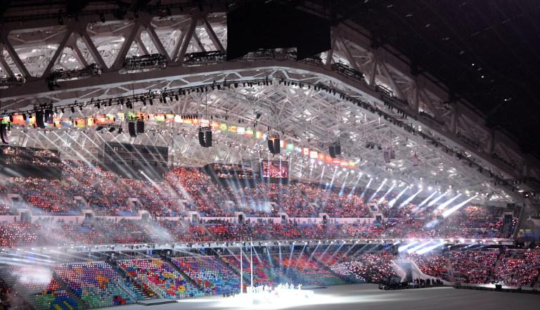 2014索契冬奥会开幕