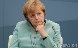 外媒:默克尔领导政党可能对乌克兰高层个别制裁
