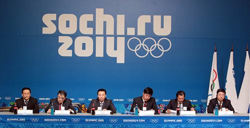 北京奥申委索契召开2022年冬奥申办通气会