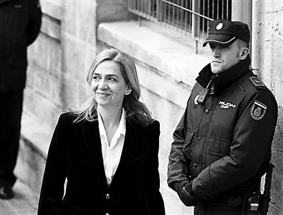 西班牙公主受审否认洗钱 民众对特权阶级不满